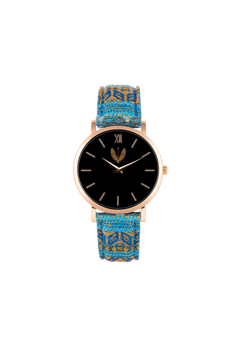 Rose Gold Black Ndebele