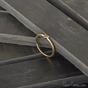 Petit Triangle Ring