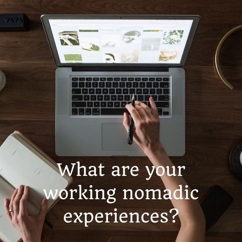 Digital working nomad lifestyle