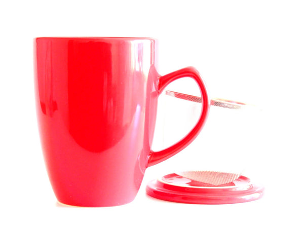 Nordic Mug With Infuser and Coaster