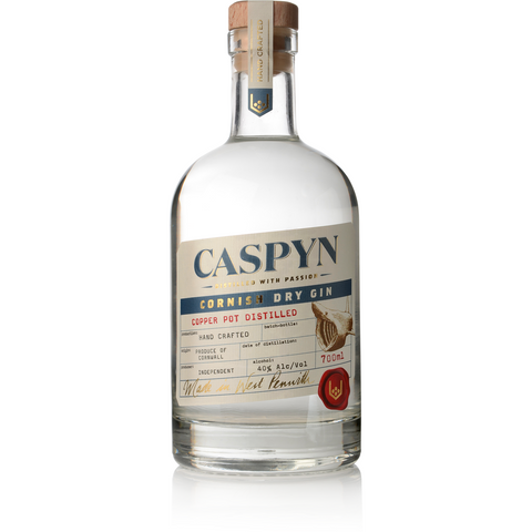 Caspyn Cornish Dry Gin - 70cl