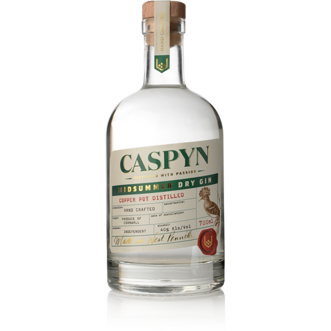 Caspyn Cornish Midsummer Gin - 70cl