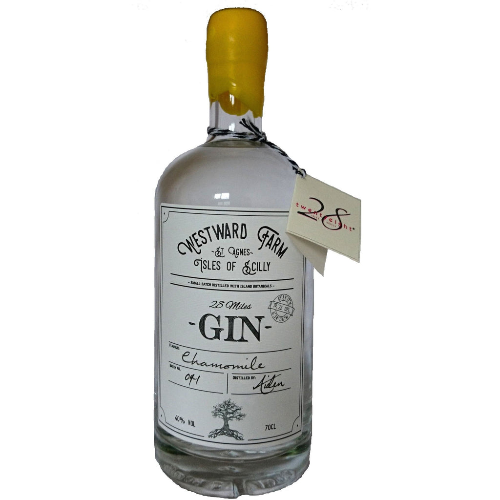 Westward Farm 28 Miles Gin - Chamomile - 70cl