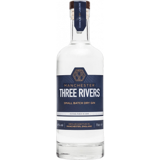 Manchester 3 Rivers Gin - 70cl