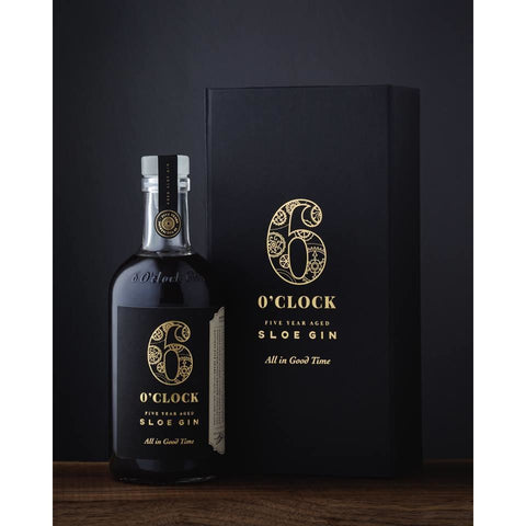 6 O'Clock 5 Year Old Aged Sloe Gin - 35cl