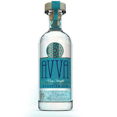 AVVA Navy Strength Scottish Gin - 20cl
