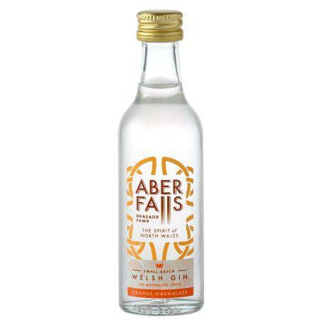 Aber Falls Orange Marmalade Welsh Gin Miniature - 5cl
