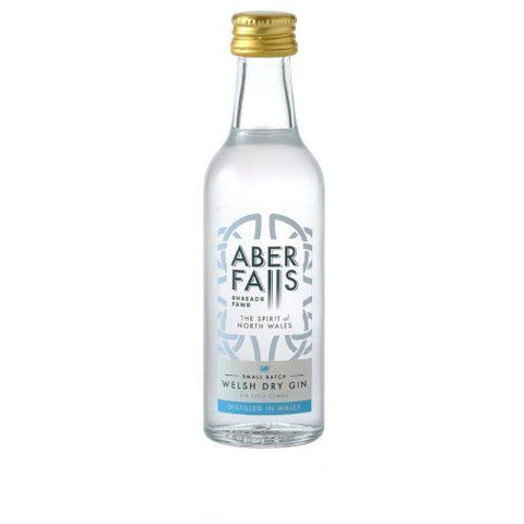 Aber Falls Welsh Dry Gin Miniature - 5cl