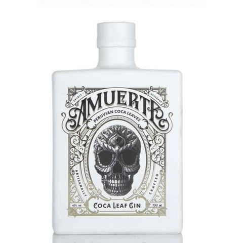 Amuerte Coca Leaf Gin (White Bottle) - 70cl