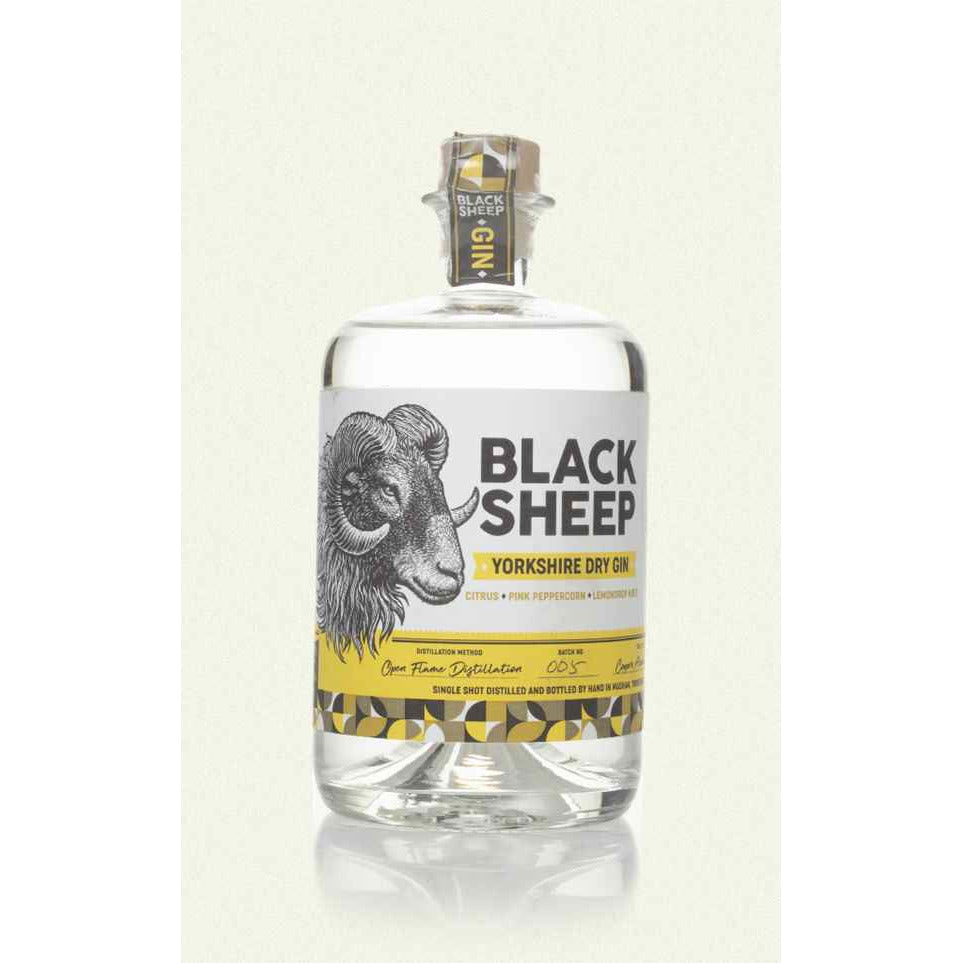 Black Sheep Yorkshire Dry Gin - 70cl