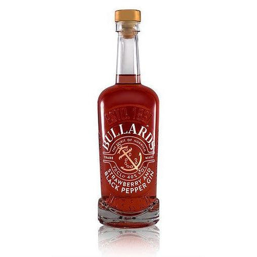 Bullards Strawberry & Black Pepper Norwich Gin - 70cl