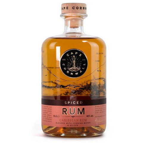 Cape Cornwall Spiced Rum - 70cl