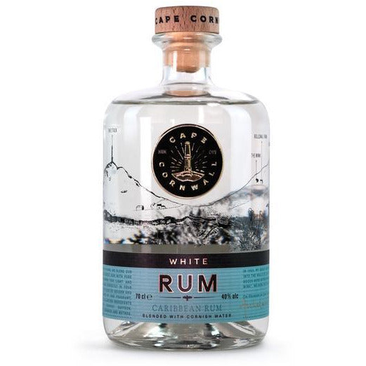 Cape Cornwall White Rum - 70cl