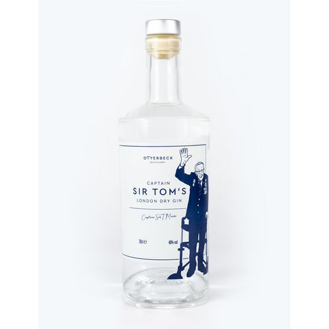 Captain Sir Tom's London Dry Gin - 70cl