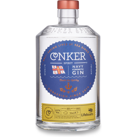Conker Navy Strength RNLI Gin