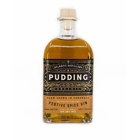 Cornish Organic Pudding Gin - 70cl