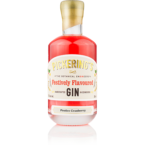 Pickering's Festive Cranberry Gin - 20cl