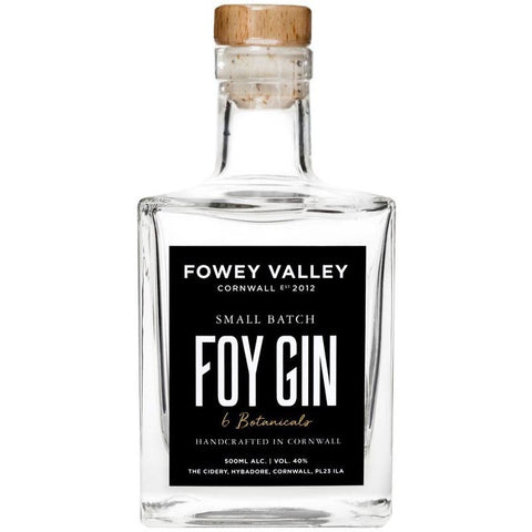 Fowey Valley Foy Cornish Gin - 50cl