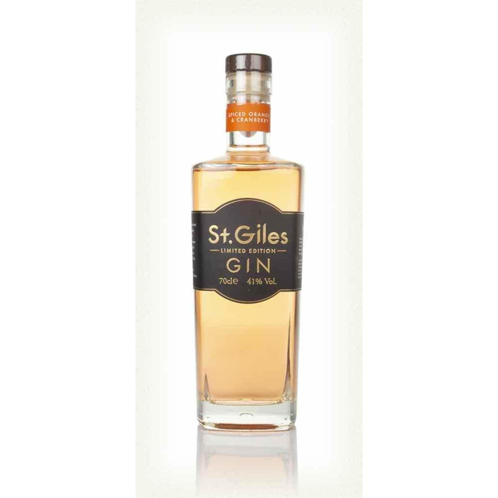 St. Giles Spiced Orange & Cranberry Gin - 70cl