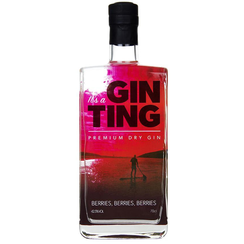 GinTing Mixed Berries Gin - 70cl