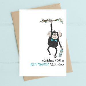 Gintastic Birthday Greetings Card