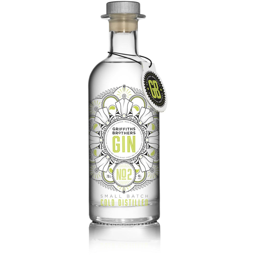 Griffiths Brothers No. 2 Gin - 70cl
