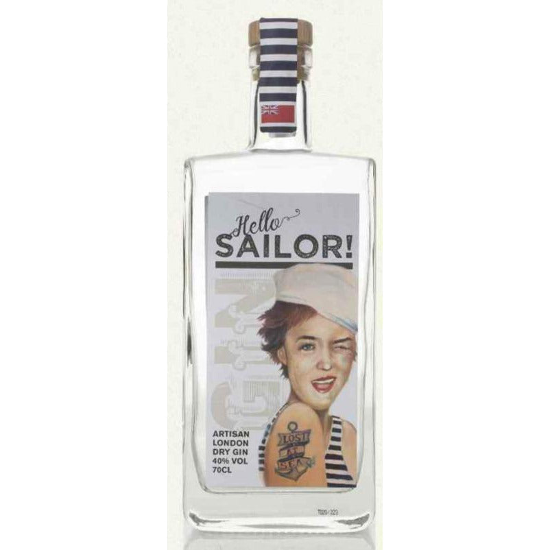 Hello Sailor London Dry Gin - 70cl