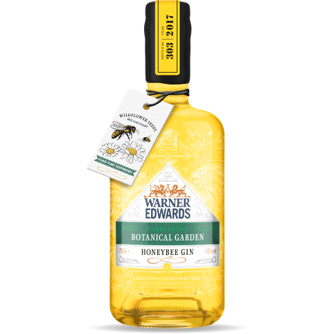 Warner Edwards Honeybee Gin - 70cl