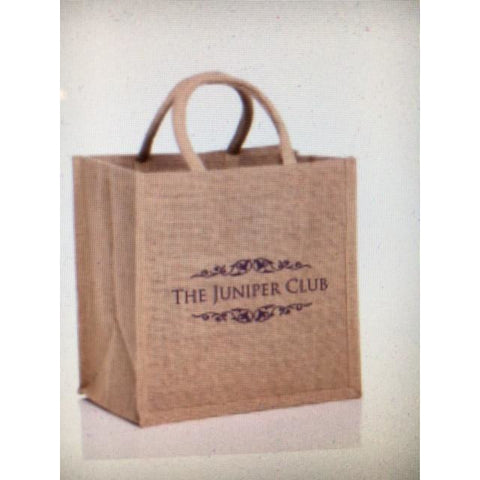The Juniper Club Jute Bag