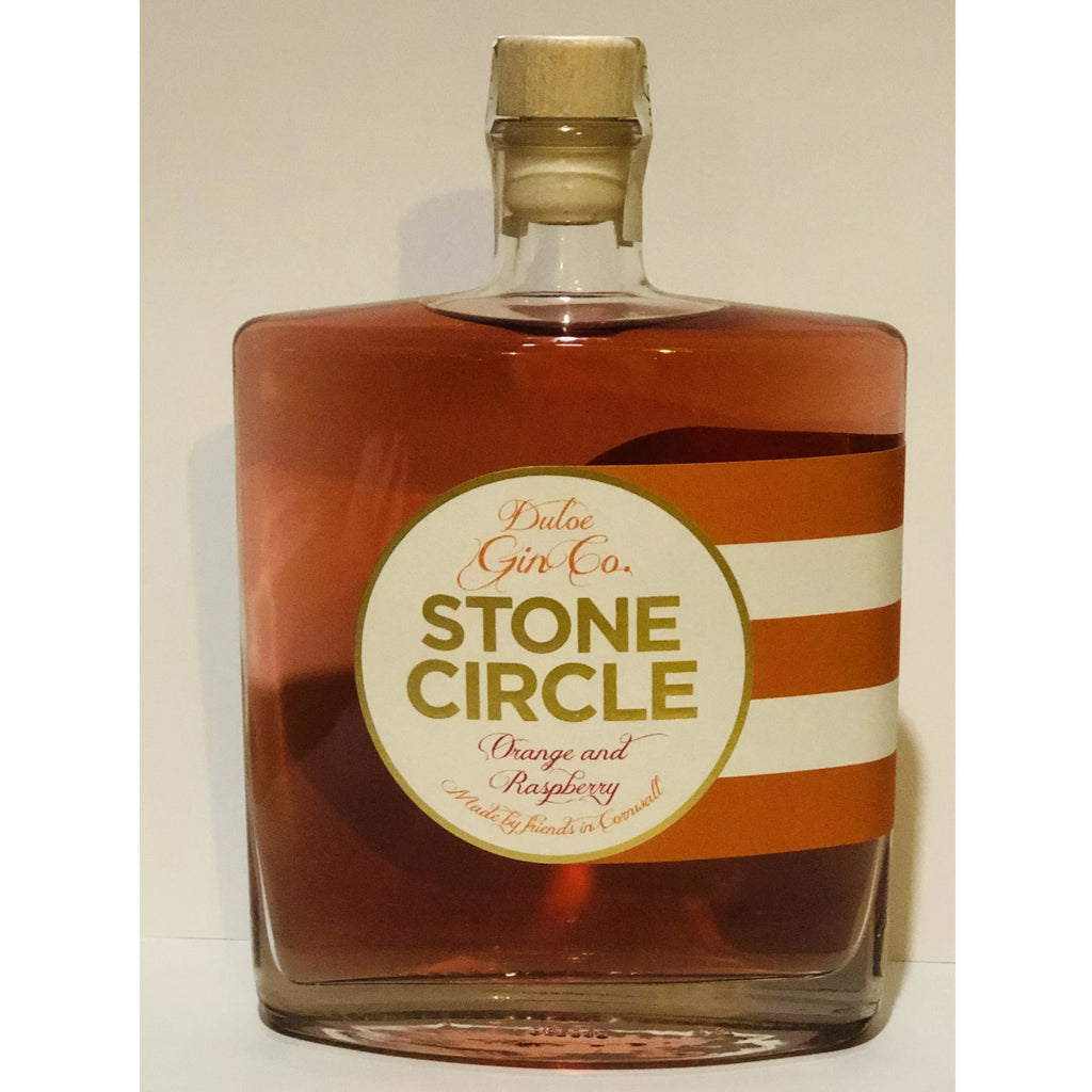 Duloe Stone Circle Orange & Raspberry Gin - 50cl