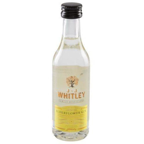JJ Whitley Elderflower Gin Miniature - 5cl