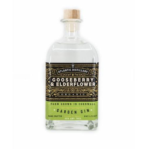 Jynerva Gooseberry & Elderflower Cornish Gin - 70cl