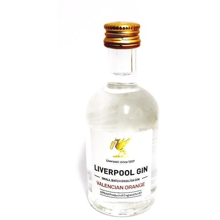 Liverpool Valencian Orange Gin Miniature - 5cl