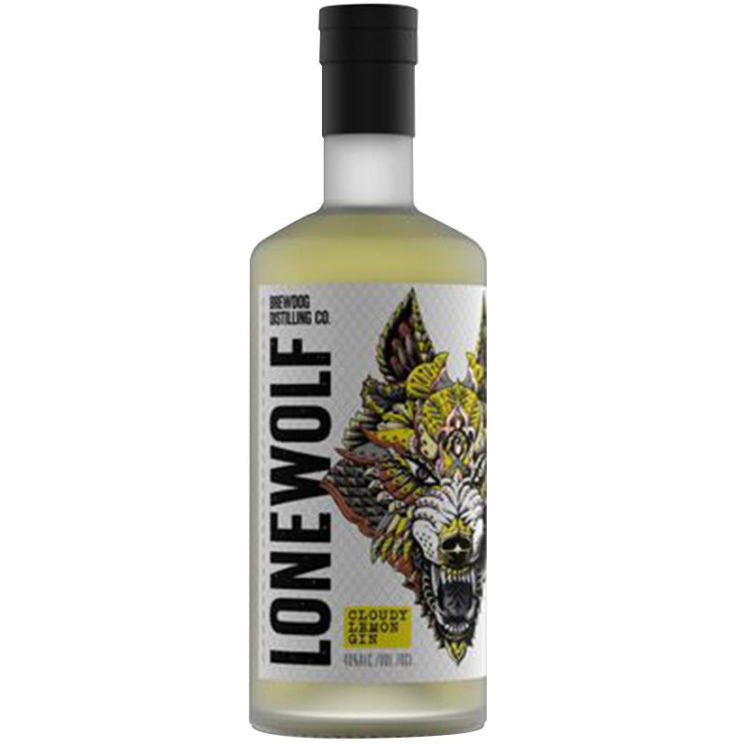 Lone Wolf Cloudy Lemon Gin - 70cl
