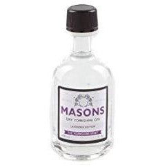 Masons Dry Yorkshire Gin Lavender Edition Miniature - 5cl