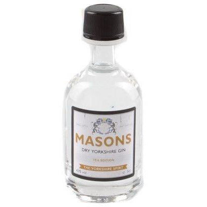 Masons Dry Yorkshire Tea Edition Gin Miniature - 5cl