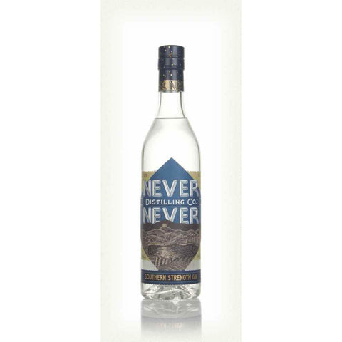 Never Never Southern Strength Gin - 50cl