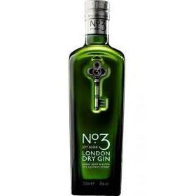 No. 3 London Dry Gin - 70cl