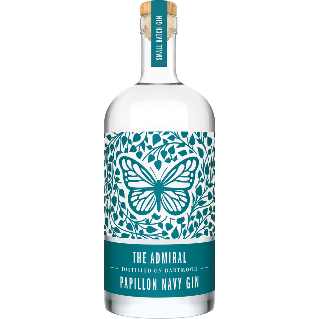 The Admiral Papillon Navy Gin - 70cl