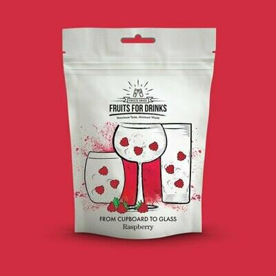Gin Garnish Fruit Pouch - Raspberry