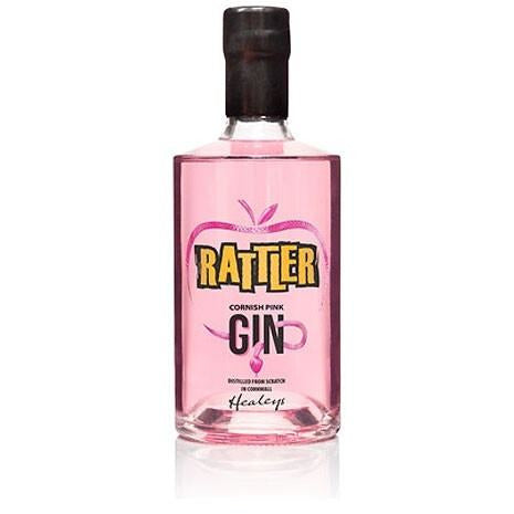 Rattler Cornish Pink Gin - 70cl