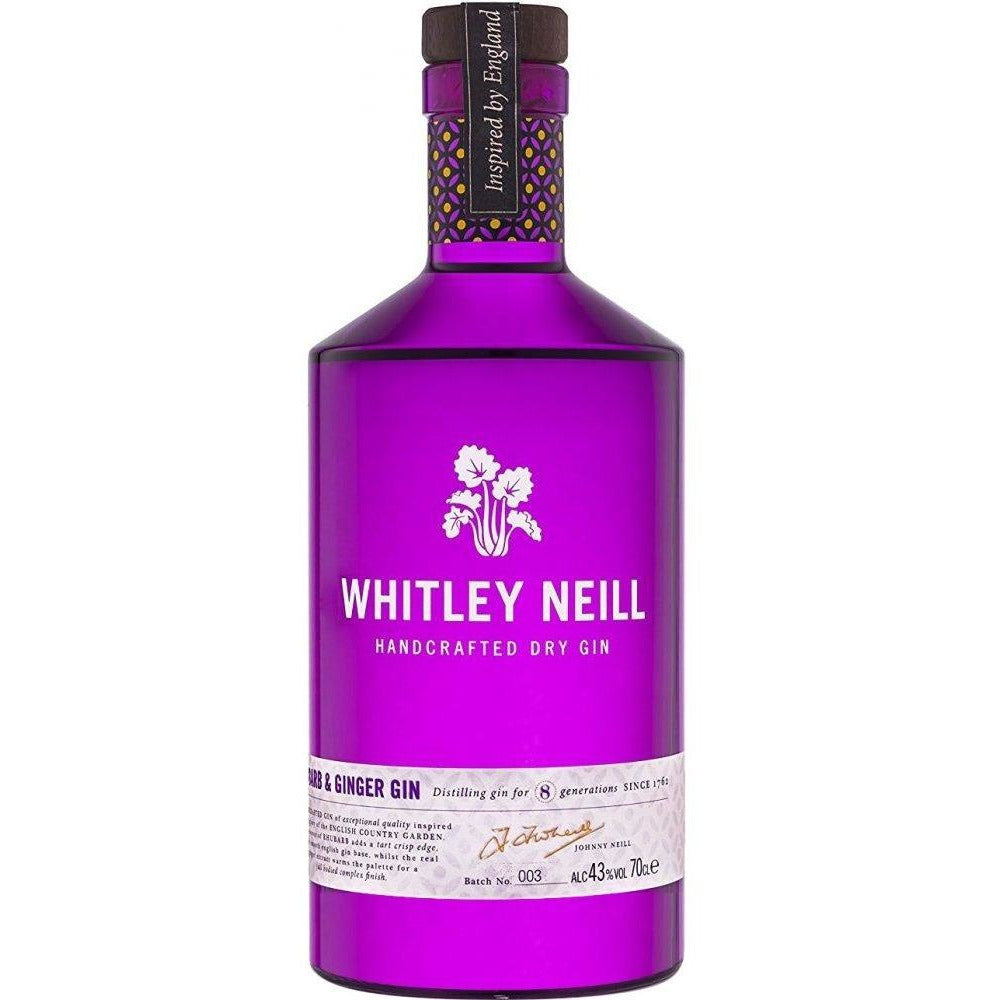 Whitley Neill Rhubarb & Ginger Gin - 70cl