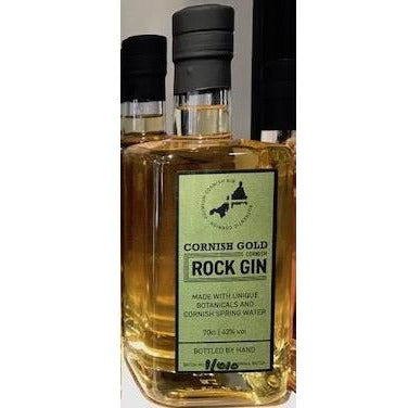 Cornish Rock Gin Gold - 35cl
