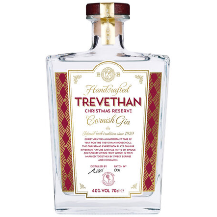 Trevethan Christmas Reserve Cornish Gin - 70cl