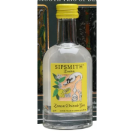 Sipsmith Lemon Drizzle Gin Miniature - 5cl