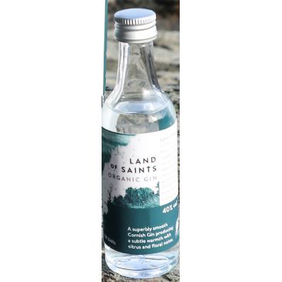 Land of Saints Gin Miniature -5cl