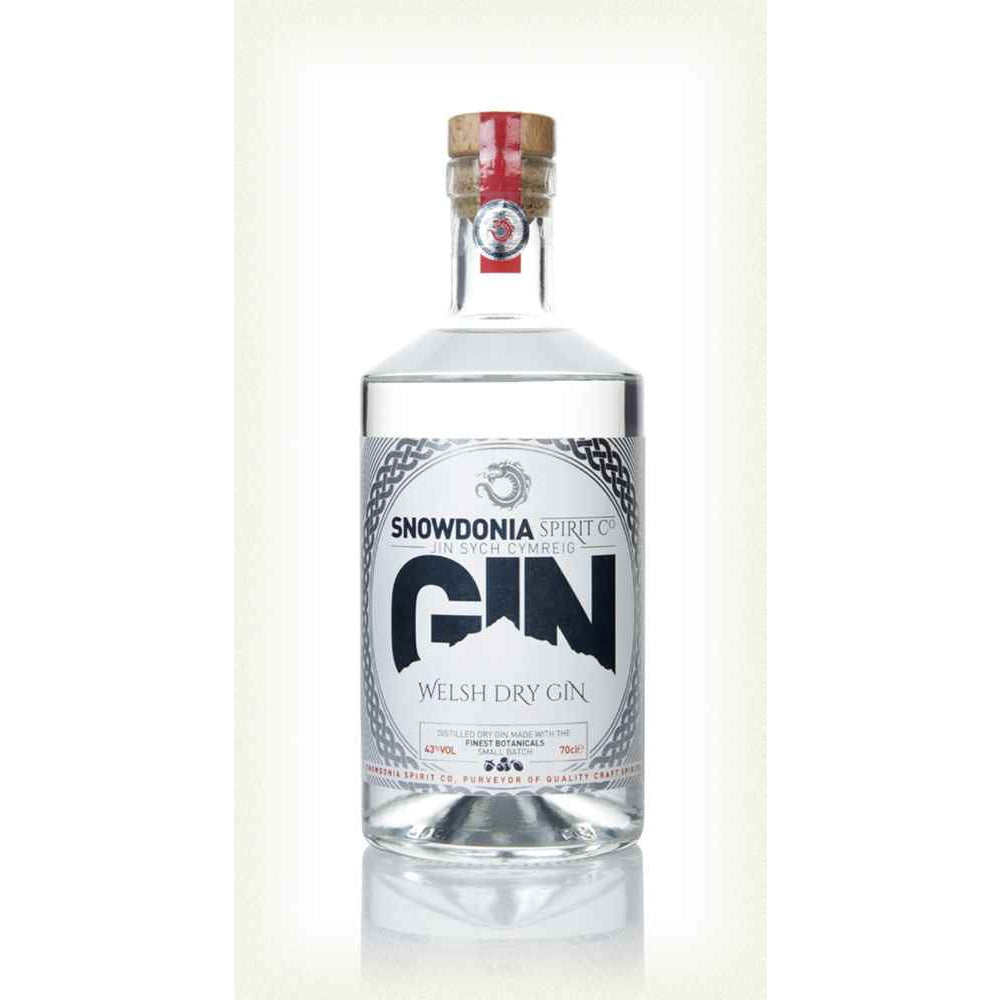 Snowdonia Welsh Dry Gin - 70cl