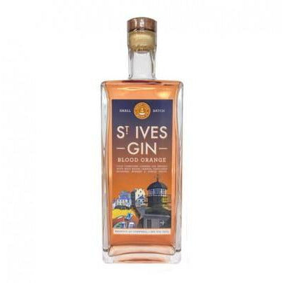 St. Ives Blood Orange Gin - 70cl