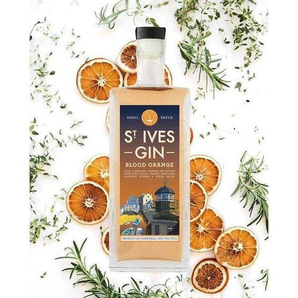 St. Ives Blood Orange Gin - 35cl