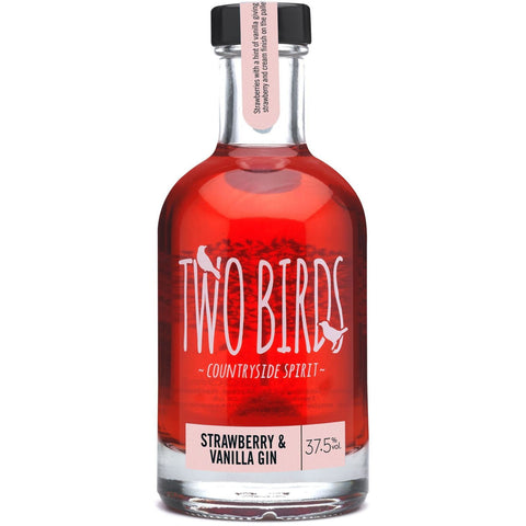 Two Birds Strawberry & Vanilla Gin - 70cl